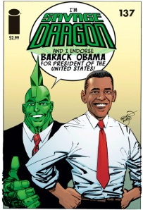 Barack Obama - Comic Fan!